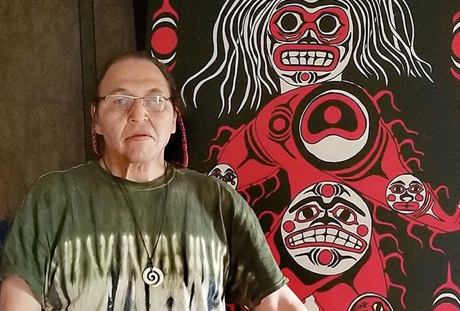 Bruce Pierre, Artist, Lummi, Washington
